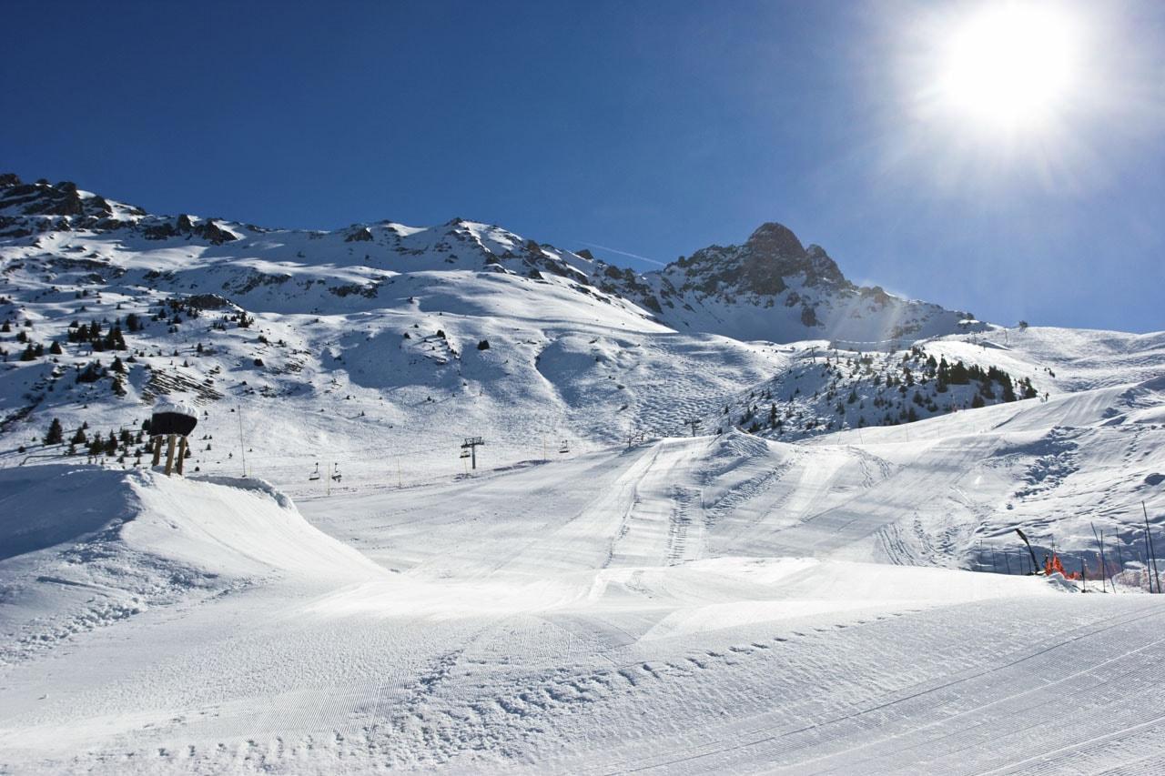 Meribel Pistes and Ski Lifts 2019