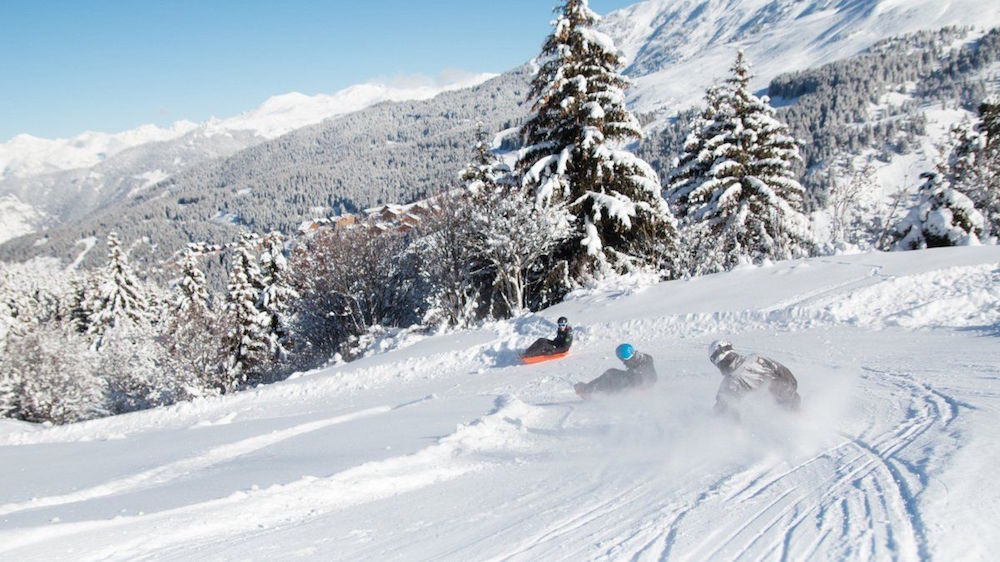 Black Forest Ski Run - Meribel, one of the best ski resorts in Europe