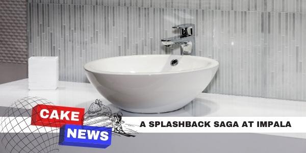 a sink at chalet impala