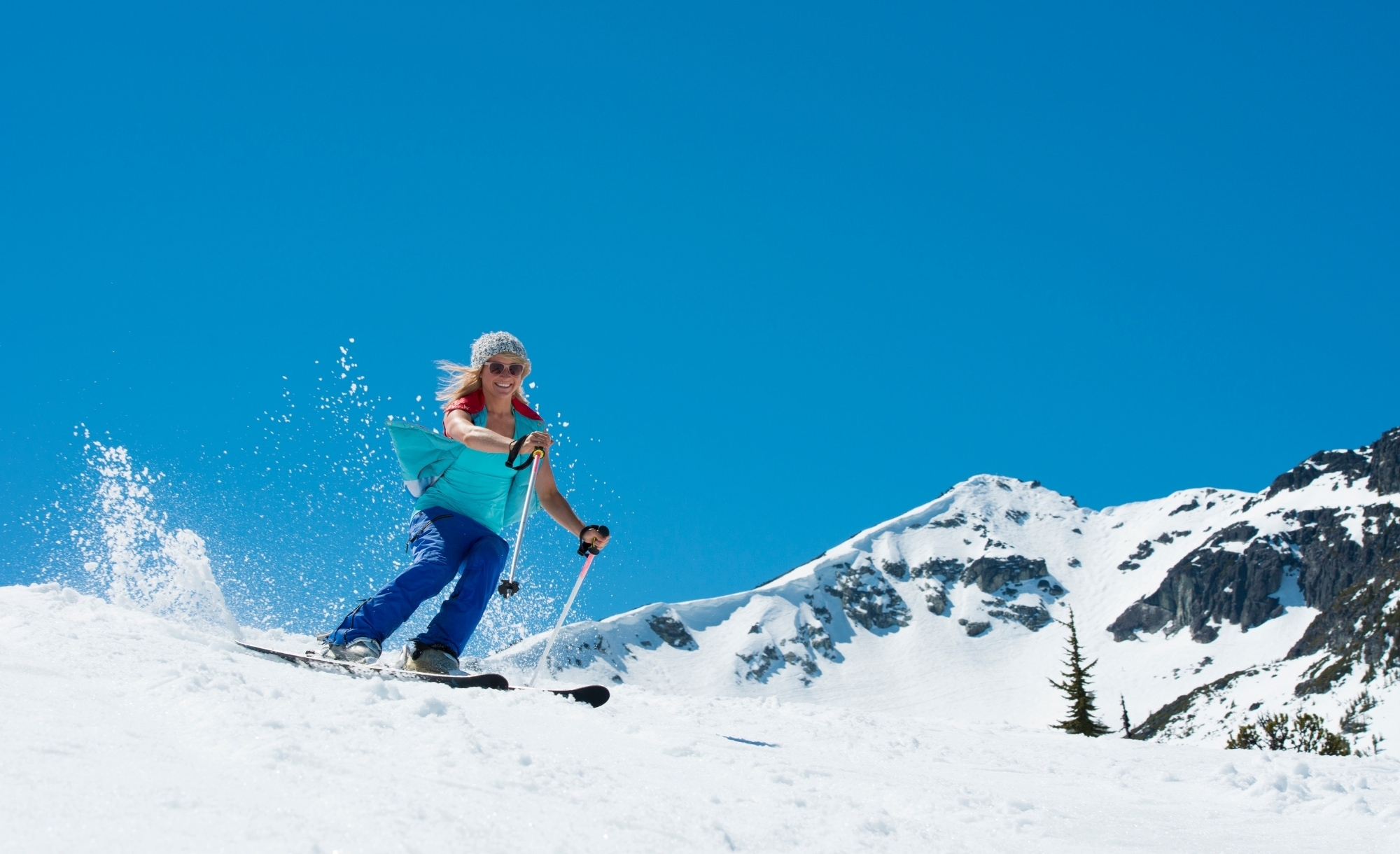 where can you ski in summer